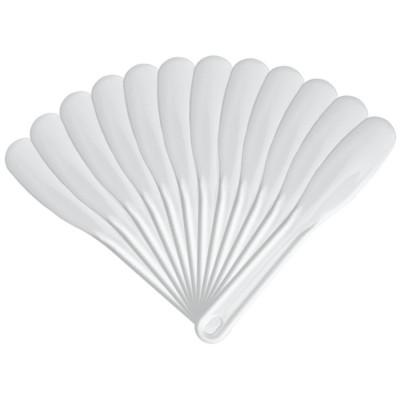 Spatole Fanghi in plastica 19 cm in confezione monouso 12 pz