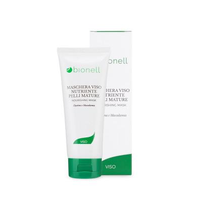 Maschera Viso Nutriente Pelli Mature Bionell Senza Parabeni 100 ml