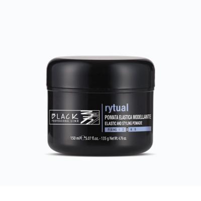 POMATA ELASTICA PER CAPELLI MODELLANTE RYTUAL 150 ml BLACK PROFESSIONAL