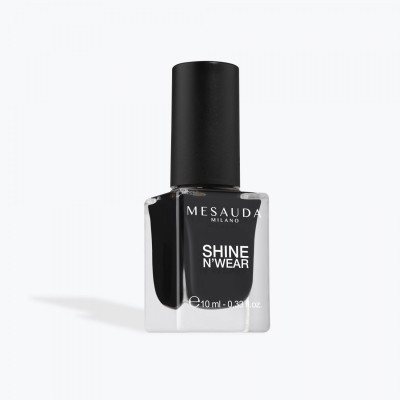 SMALTO MESAUDA SHINE N'WEAR 229 BACK TO BLACK 10 ml