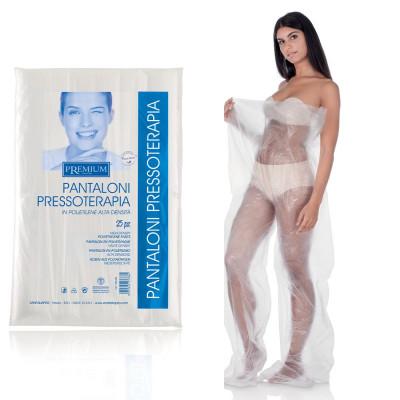 Pantaloni per Pressoterapia e fanghi in Cartene a piede chiuso 25 pz