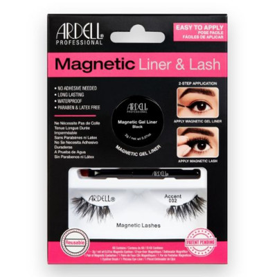 CIGLIA CON EYELINER GEL MAGNETICO ARDELL MAGNETIC ACCENTS 002 LASHES