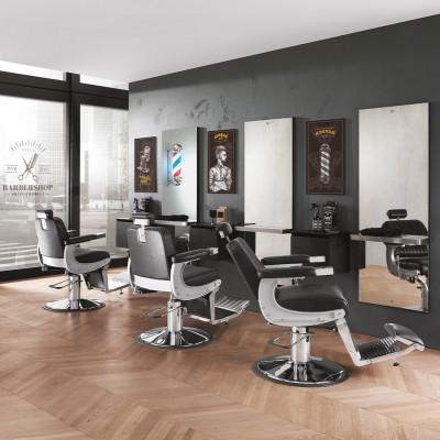 3 Postazioni da Lavoro Barbiere Complete