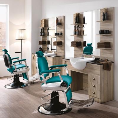 2 Postazioni da Lavoro Barbiere Complete